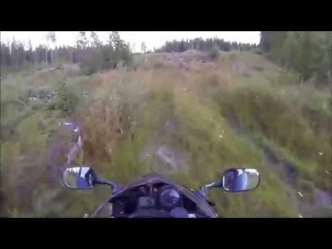 Adventure touring on few Honda CBR in Finland! (Suorinta tietä Tampereelta Bodomjärvelle!)