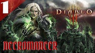 DIABLO 3 NECROMANCER HARDCORE Xbox One Lets Play - Part 1 (A Necro Start)