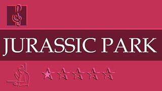Chromatic Harmonica Notes Tutorial - Jurassic Park Theme (Sheet Music)