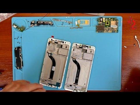 XIAOMI REDMI 5 //Полный РАЗБОР и ЗАМЕНА экранного модуля с рамой на OEM