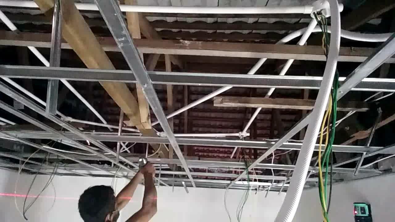Cara pasang besi papan kapur buat PALAPON YouTube
