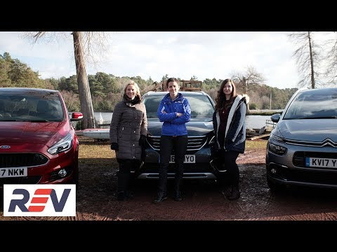 The REV Test:  Seven Seater cars. Citroen Grand C4 Picasso vs Ford S-Max vs Peugeot 5008