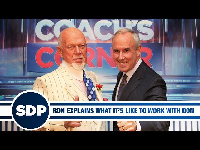 Ron MacLean Explains What Its Like to Work with Don Cherry | The Steve Dangle Podcast