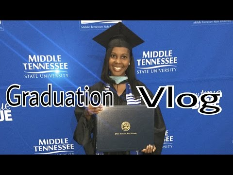 Graduation Vlog // Master's Degree