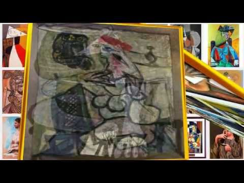 Pablo Picasso - Seated Woman Paintings - Morphing Surrealism