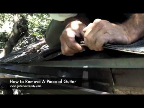 how-to-remove-a-piece-of-gutter