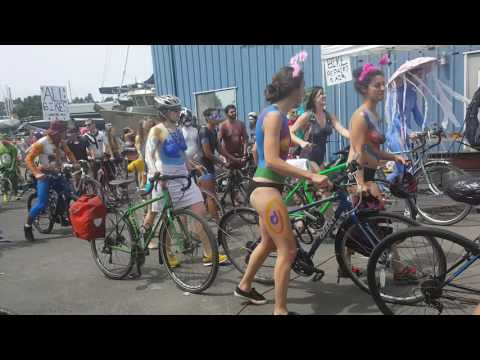 Fremont Solstice bike ride June 17 2017