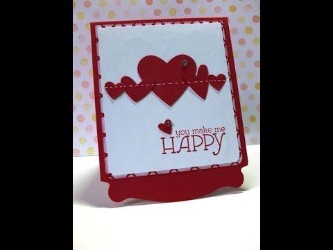 Schön Tutorial: Valentinskarte #1 /Valentine Card #1