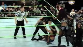 FCW 11-13-2011 FCW Divas Tag Match ( AUDREY MARIE & CAMERON LYNN vs  CAYLEE TURNER & AKSANA )