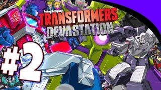 Transformers Devastation: Walkthrough Part 2 SIDE SWIPE