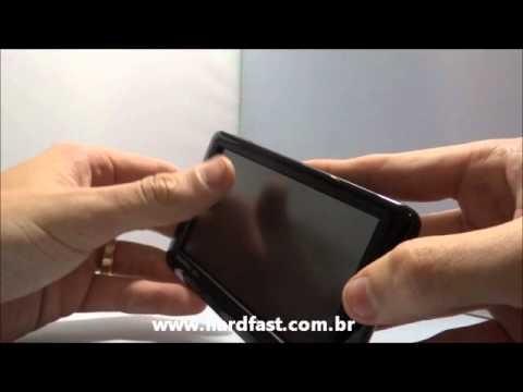 Como calibrar alinhar a tela touch screen do Gps garmin nuvi