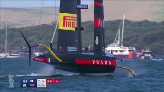 Prada Cup, Luna Rossa trionfa e va in finale: il momento della vittoria