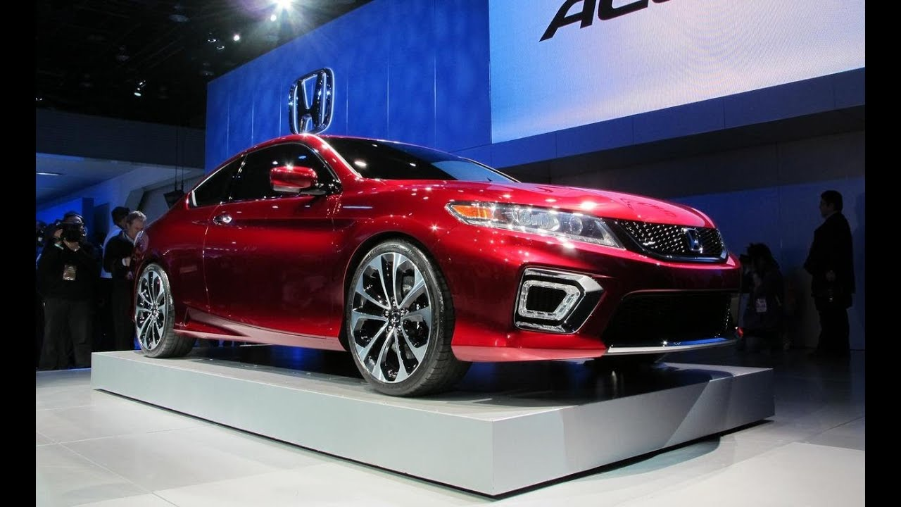 2013 Honda Accord Coupe Concept - 2012 Detroit Auto Show - CAR and DRIVER
