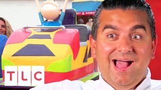 Rollercoaster Cake For Keansburg Amusement Park's 112th Anniversary | Cake Boss