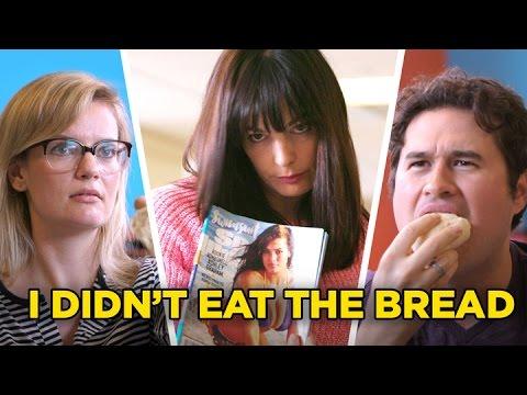 Yo no comer pan una vez así que ahora voy a mirar como Gisele