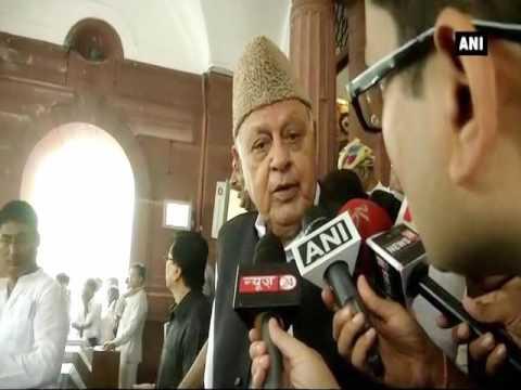 India lacks power to challenge China: Farooq Abdullah - ANI News