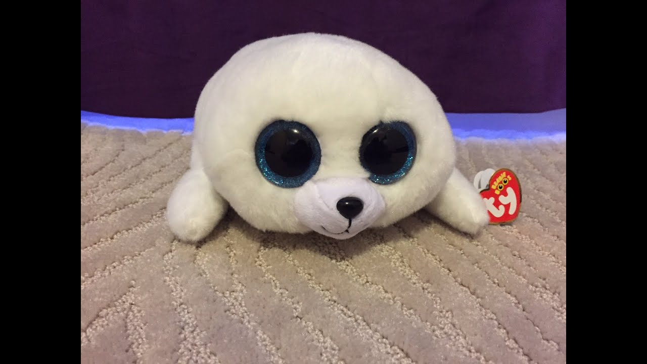 d78b4bc073b The Beanie Boo s Collection - Icy The Seal - YouTube