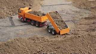 RC-LKW, RC-Bagger, RC Baustellenfahrzeuge, RC Autofähre
