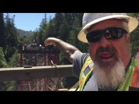 Pfeiffer Bridge construction