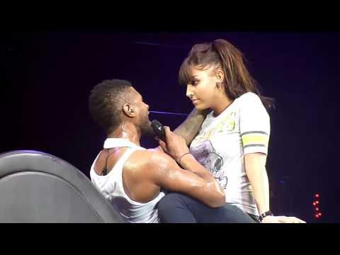 ► Hayranı Usher'a Kucak Dansı Yapıyor