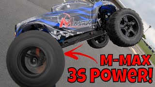 3s Power! Remo Hobby 1035  m max RC Car! 1/10 scale Brushless