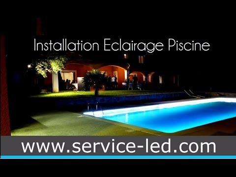 Vid o montage projecteur plat pour piscine led seamaid doovi for Eclairage piscine led