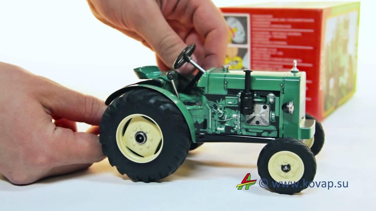 Как сделать трактор игрушечный