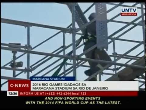 2016 Rio Games idadaos sa Maracana stadium sa Rio de Janeiro