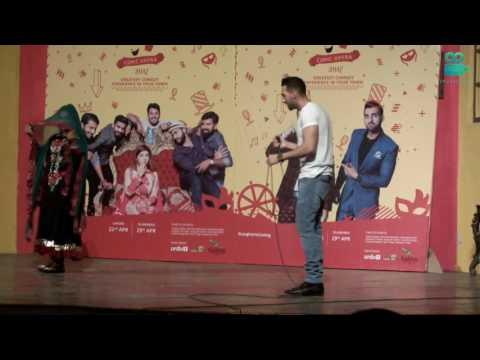 SHAM IDREES, FROGGY | COMIC OPERA 2017 LAHORE performance