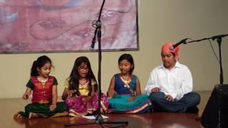 Kannan kuzhalosai.... at Huntsville Tamil Sangam - Tamil New Year 2017
