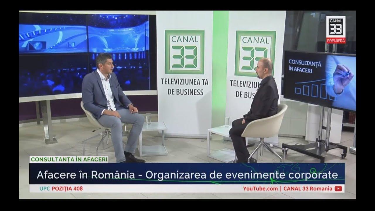 Afacere în România Organizarea De Evenimente Corporate Youtube