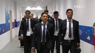 Mexico arrive - match 11 @ 2018 fifa world cup™