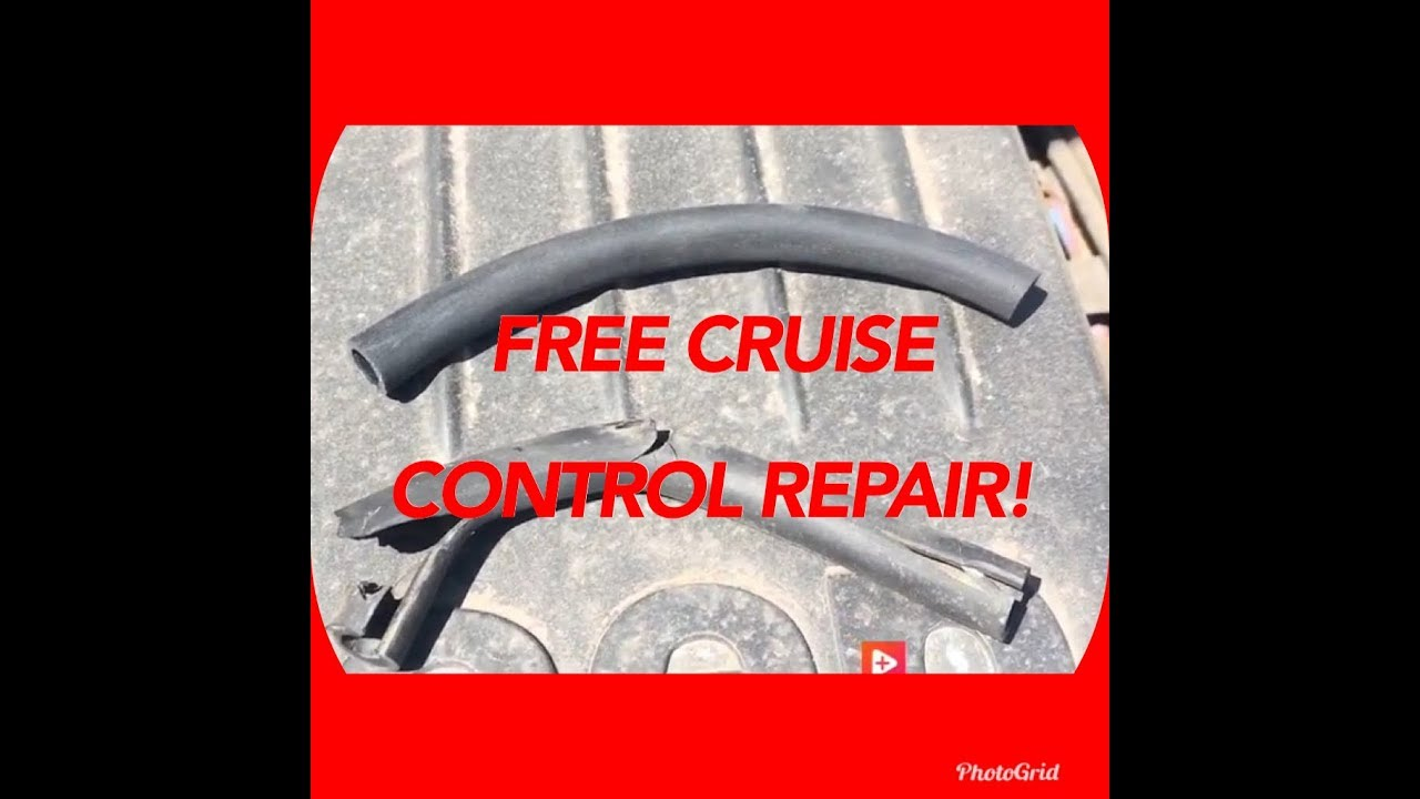 2003 Jeep Grand Cherokee Cruise Control Repair Vacuum Line Fix Easy Youtube