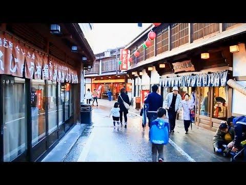 Traditional Japanese Hot Spring - Kusatsu Onsen Tour - Japan Holiday Vlog