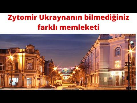Yabancıların hayla bilmediği küçük Ukrayna şehiri Zhytomyr.B