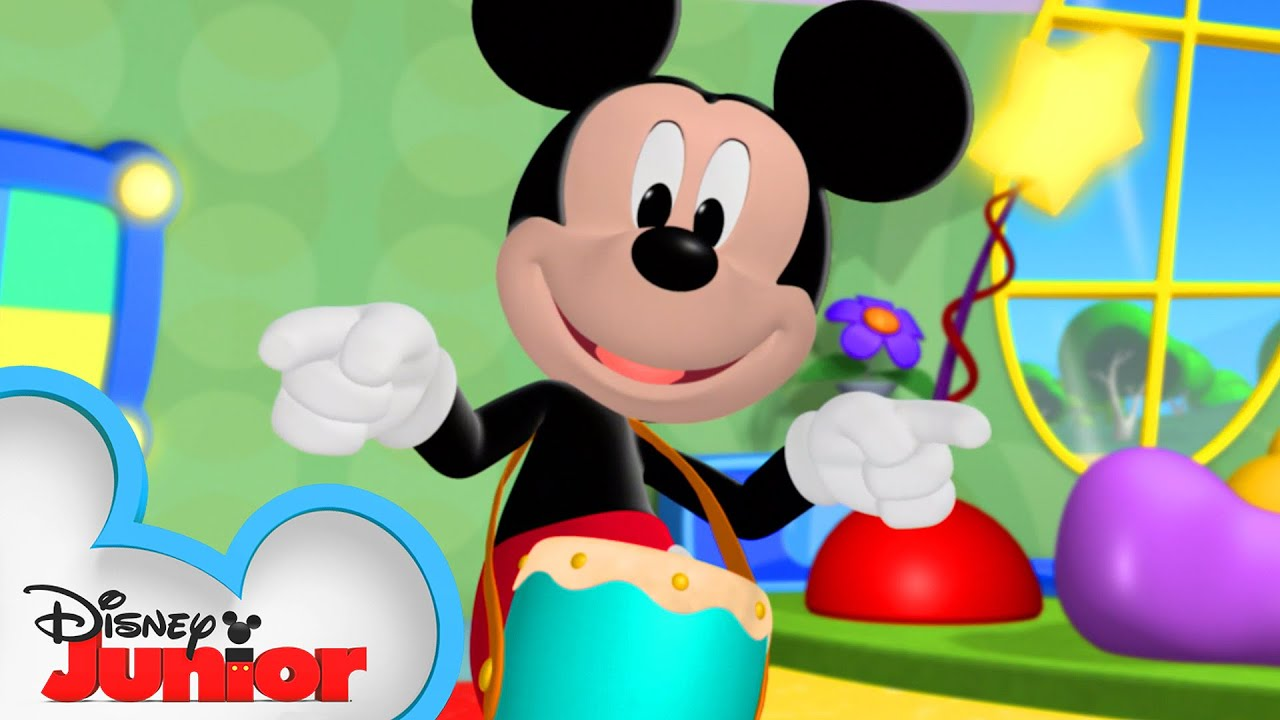 Dance Party At The Clubhouse Mickey Mornings Mickey Mouse Clubhouse Disney Junior Youtube