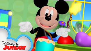Dance Party at the Clubhouse 🕺  Mickey Mornings   Mickey Mouse Clubhouse   Disney Junior