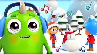 Bebek şarkıları. Kış şarkısı Sina ve Lo çizgi film