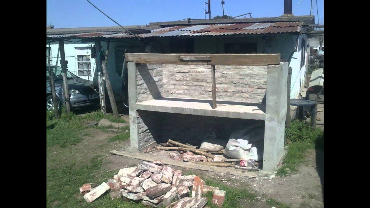 Como hacer un parrillero a la uruguaya youtube for Como hacer una pileta de ladrillos