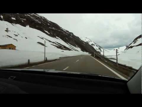 Alpine Drive from Andermatt to Disentis/Mustér Switzerland