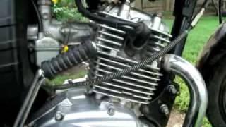 Мотоцикл берд125 вибрационний стук в районе матора