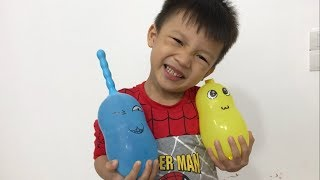 Learn Colors with Funny Balloons | The Surprise  For Kids