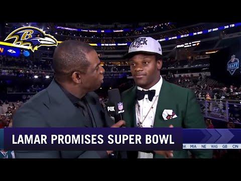 Lamar Jackson Promises a Super Bowl to Baltimore | Baltimore Ravens