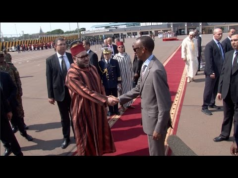 KING MOHAMMED CONCLUDES VISIT TO RWANDA