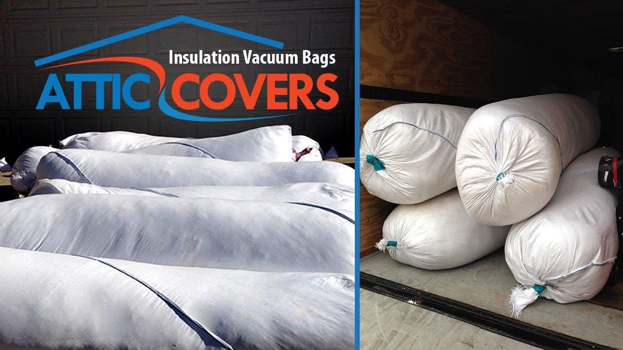 Insulation Vacuum Bags Tough Bags Youtube