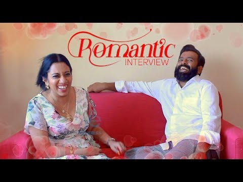 Romantic Interview of Santhosh Narayanan with his wife Meenakshi - First time ever
