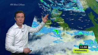 Wednesday morning forecast 22/02/17