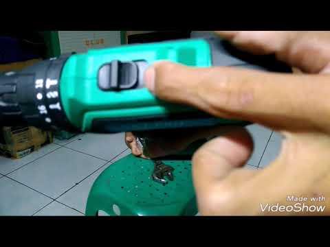 Uji Coba Mesin Bor NRT 340 Untuk Bor Besi Dan Beton