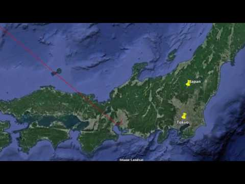 Japan Google Earth Overview [Russian]