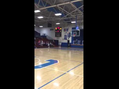 Clinton County High School $1000 Healthy Kids Clinic Half-Court Shot